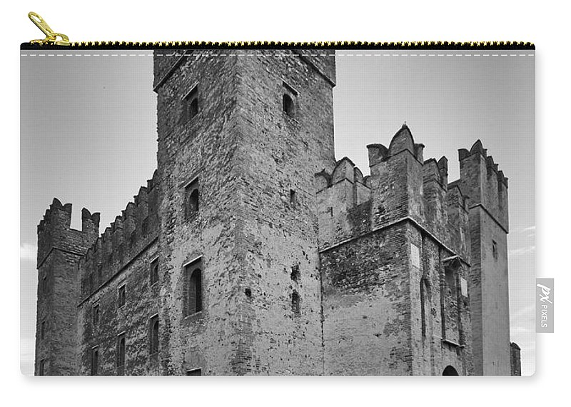 Francacorta Carry-all Pouch featuring the photograph The Castle Of Sirmione. Lago Di Garda by Jouko Lehto