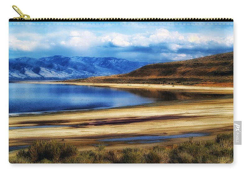 Utah Carry-all Pouch featuring the photograph The Great Salt Lake by Mountain Dreams