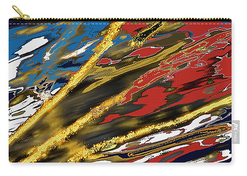 Guardian Carry-all Pouch featuring the painting The Guardian by Thomas Bryant