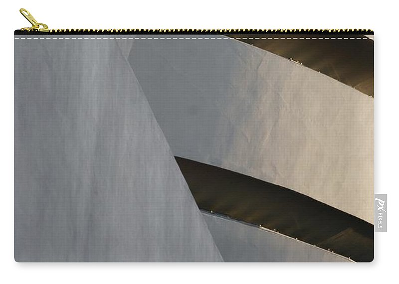 Scenic Carry-all Pouch featuring the photograph The Guggenheim by Rob Hans