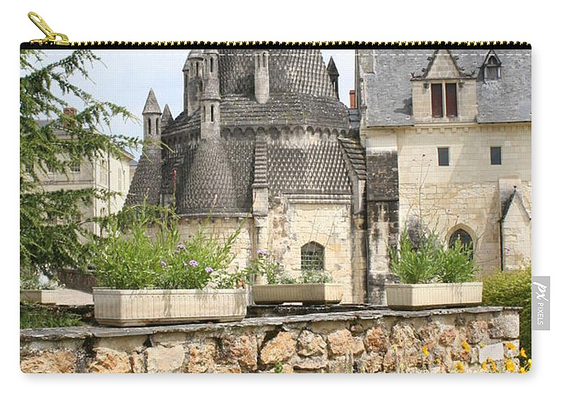Kitchen Carry-all Pouch featuring the photograph The Kitchenbuilding Of Abbey Fontevraud by Christiane Schulze Art And Photography
