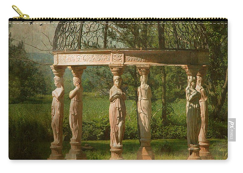 Gazebo Carry-all Pouch featuring the photograph The Promise by Fran J Scott
