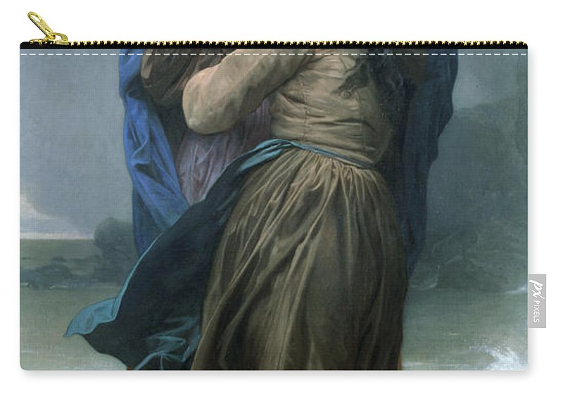 Storm Carry-all Pouch featuring the photograph The Storm by Munir Alawi