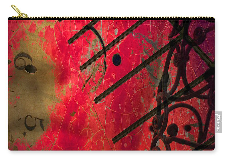 Abstract Art Carry-all Pouch featuring the photograph Times I Felt by The Artist Project