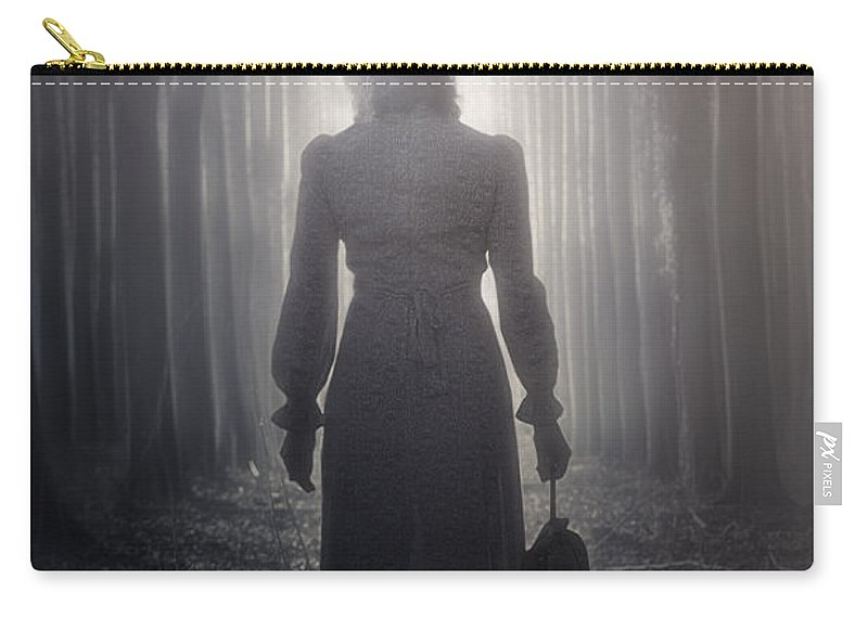 Woman Carry-all Pouch featuring the photograph Towards The Light by Joana Kruse