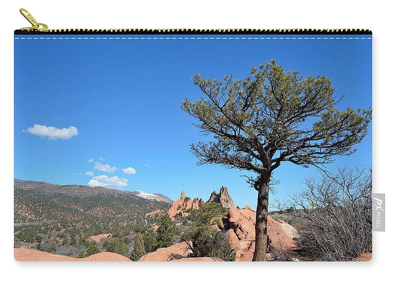 Landscape Carry-all Pouch featuring the photograph Tree by Pam Romjue