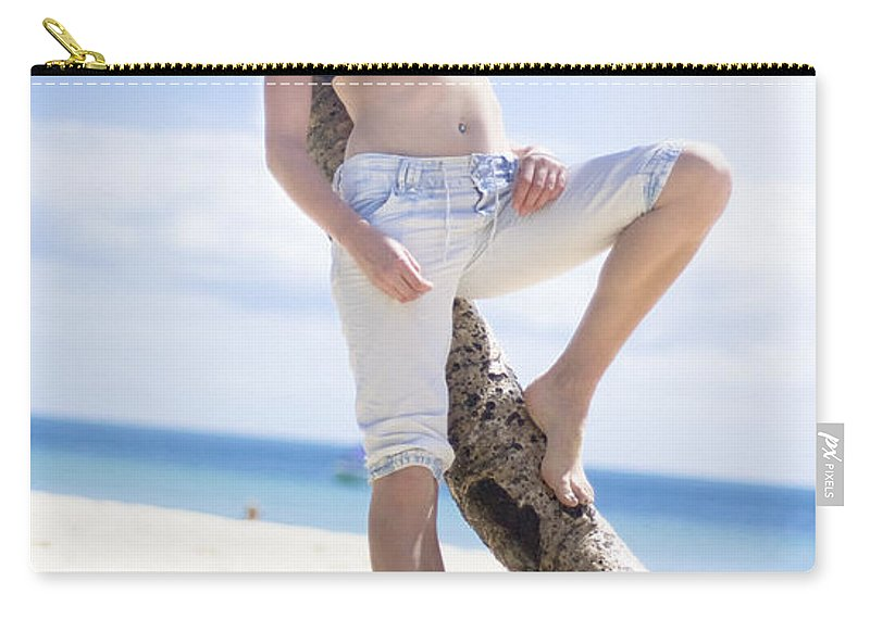 Adult Carry-all Pouch featuring the photograph Tropical Island Paradise by Jorgo Photography - Wall Art Gallery