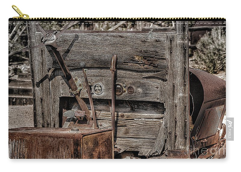 Truck Carry-all Pouch featuring the photograph Truck 2 by Larry White