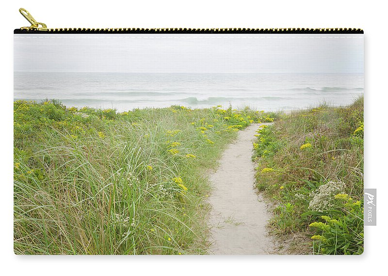 Tranquility Carry-all Pouch featuring the photograph Usa, Massachusetts, Nantucket Island by Chuck Plante