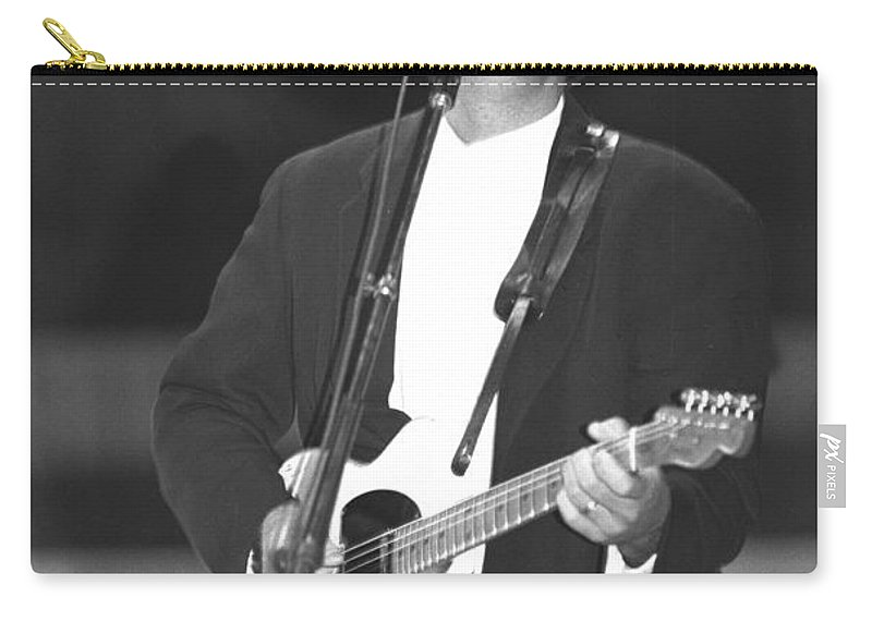 Country Carry-all Pouch featuring the photograph Vince Gill by Concert Photos