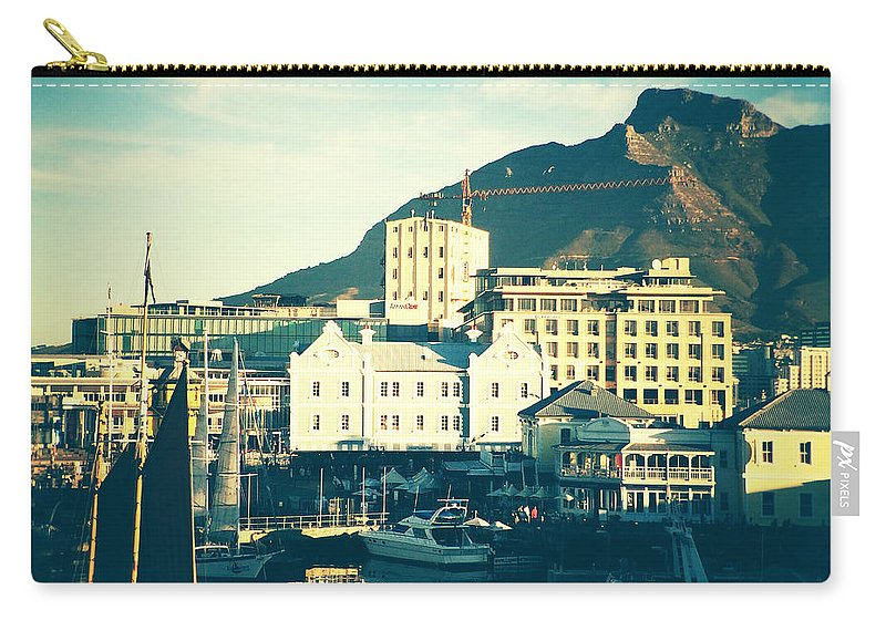 Waterfront Carry-all Pouch featuring the photograph Waterfront by Neil Overy