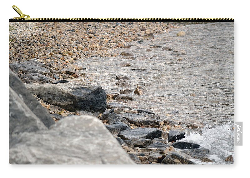 Water Carry-all Pouch featuring the photograph Waters Edge by Linda Kerkau