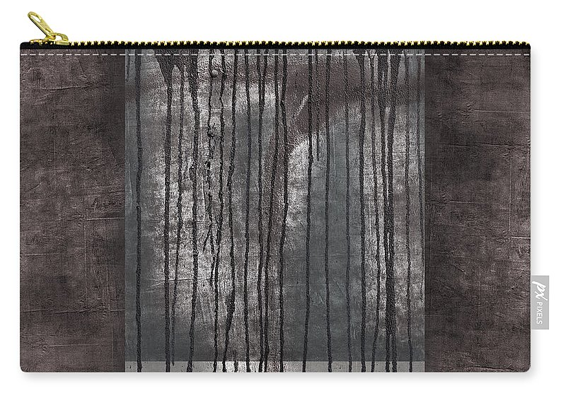 Watershed Carry-all Pouch featuring the photograph Watershed Abstract by Carol Leigh