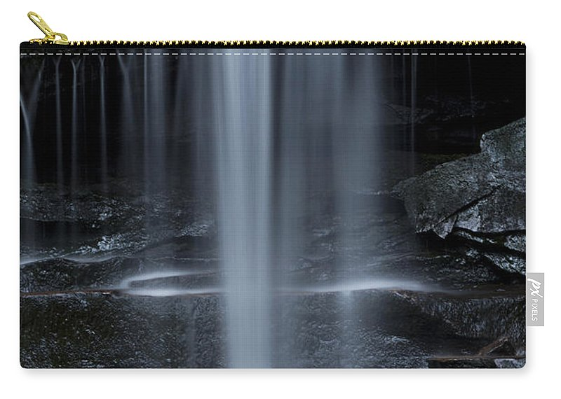 Canyon Carry-all Pouch featuring the photograph Wilderness Waterfall by John Stephens