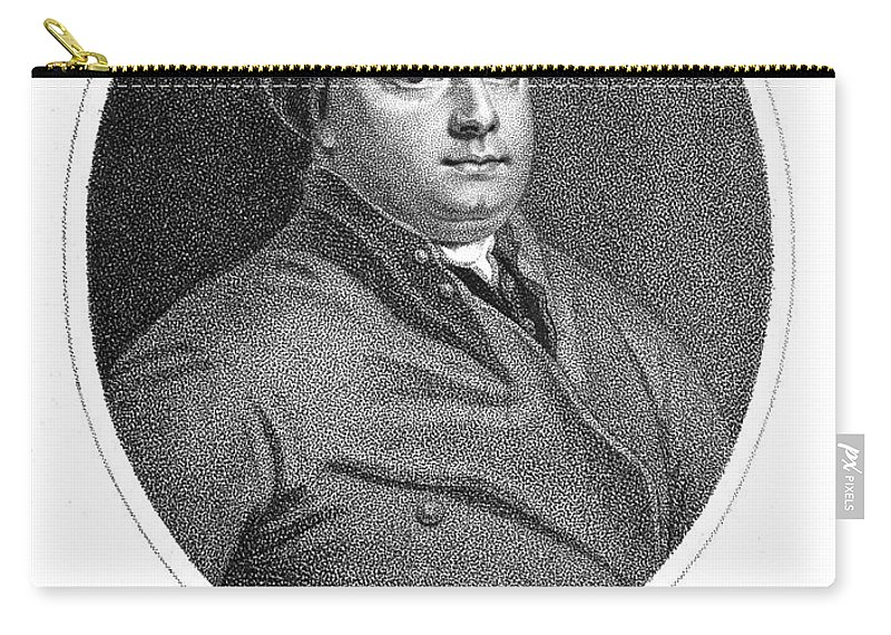 18th Century Carry-all Pouch featuring the photograph William Cheselden by Granger