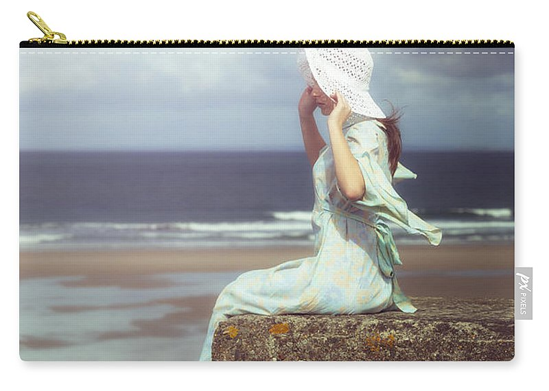 Woman Carry-all Pouch featuring the photograph Windy by Joana Kruse