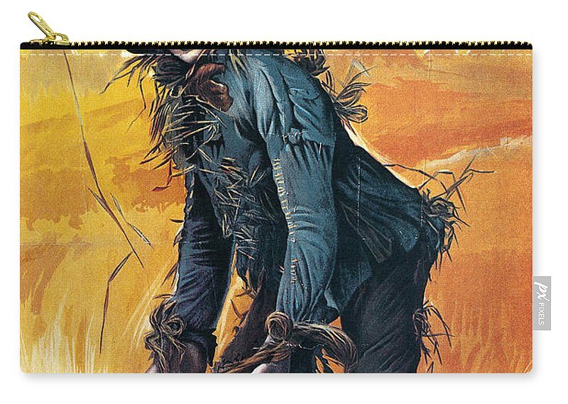 1903 Carry-all Pouch featuring the photograph Wizard Of Oz, 1903 by Granger