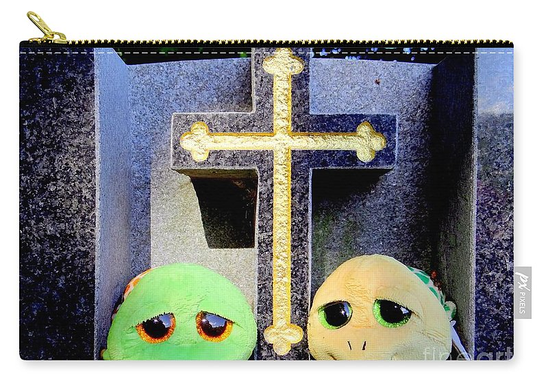 Cemeteries Carry-all Pouch featuring the photograph Untitled by Ed Weidman