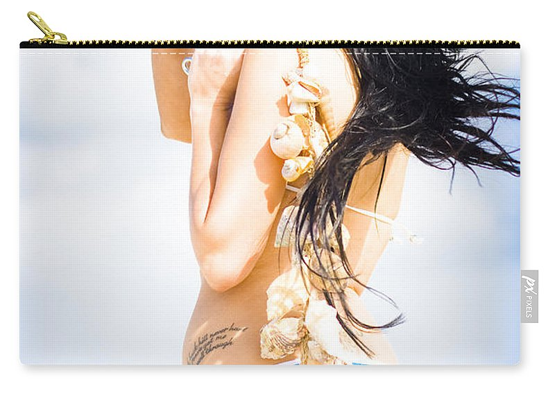 Bright Carry-all Pouch featuring the photograph Vacation by Jorgo Photography - Wall Art Gallery