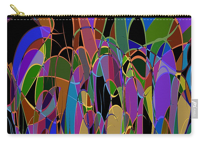 Abstract Carry-all Pouch featuring the digital art 1009 Abstract Thought by Chowdary V Arikatla