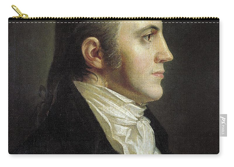 19th Century Carry-all Pouch featuring the painting Aaron Burr (1756-1836) by Granger