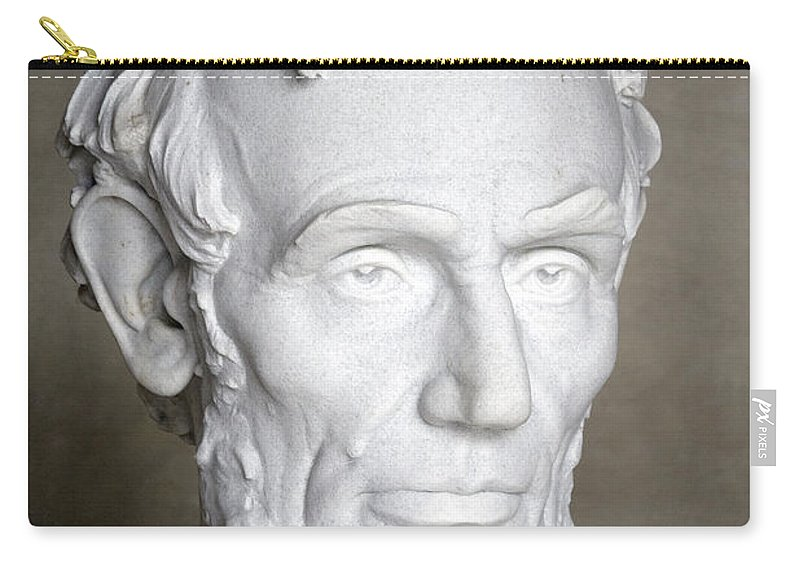 1865 Carry-all Pouch featuring the photograph Abraham Lincoln (1809-1865) by Granger