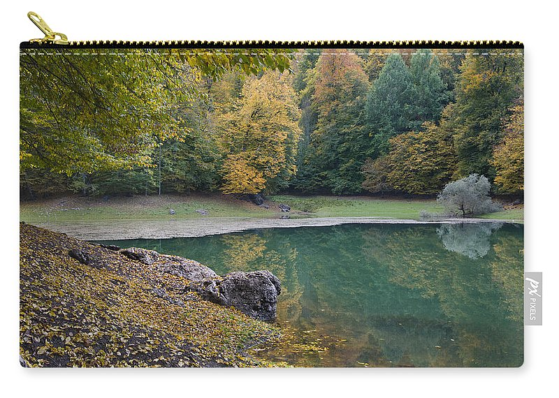 Anatolia Carry-all Pouch featuring the photograph Fall Colours by Ayhan Altun