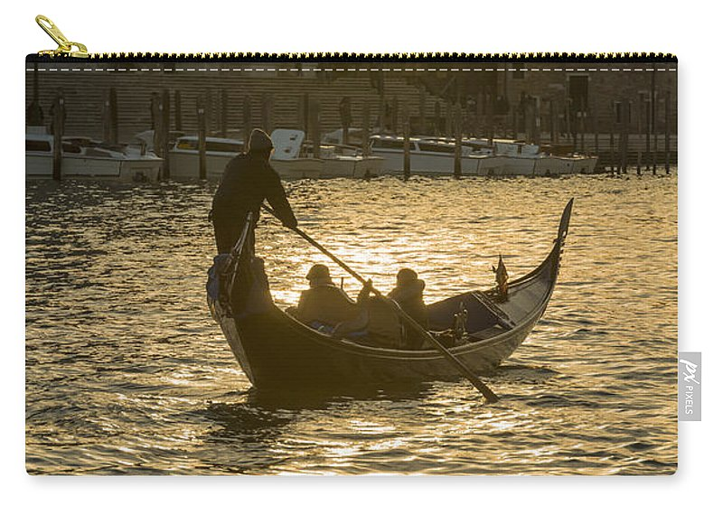 Gondola Carry-all Pouch featuring the photograph Gondola by Mats Silvan