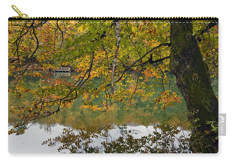 Nature Carry-all Pouch featuring the photograph Fall Colours by Ayhan Altun