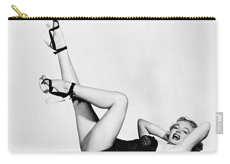 20th Century Carry-all Pouch featuring the photograph Marilyn Monroe by Granger