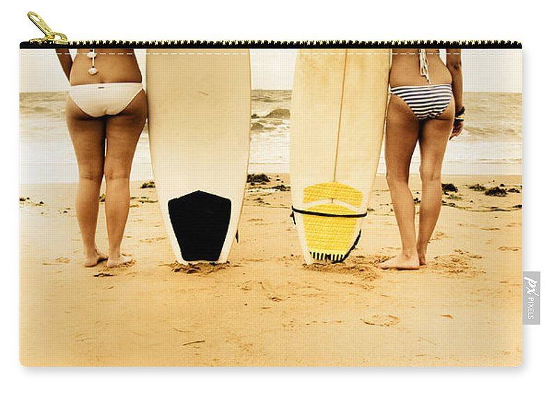 Blonde Carry-all Pouch featuring the photograph Summer by Jorgo Photography - Wall Art Gallery