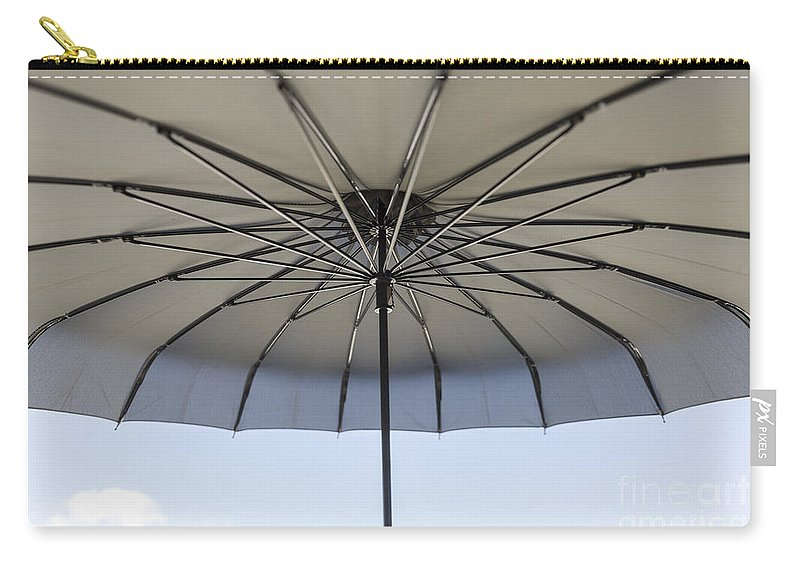 Umbrella Carry-all Pouch featuring the photograph Umbrella by Mats Silvan