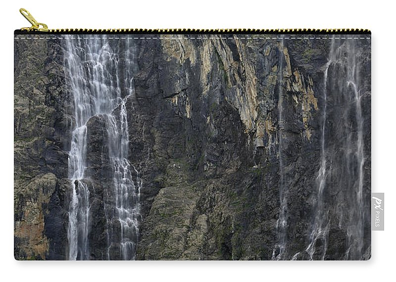 Cirque De Gavarnie Carry-all Pouch featuring the photograph 120520p197 by Arterra Picture Library