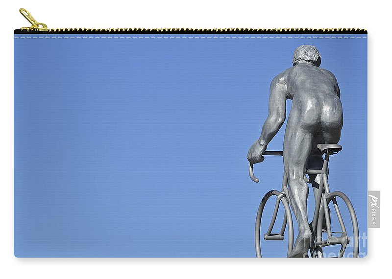 Statue Carry-all Pouch featuring the photograph 120520p218 by Arterra Picture Library