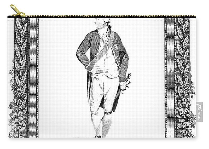 1783 Carry-all Pouch featuring the painting George IIi (1738-1820) by Granger