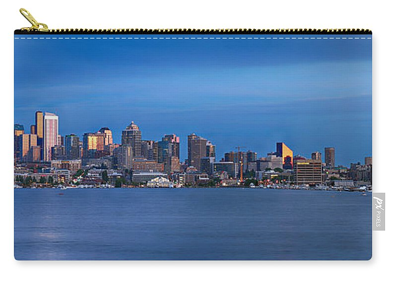Seattle Carry-all Pouch featuring the photograph Seattle by Paul Fell