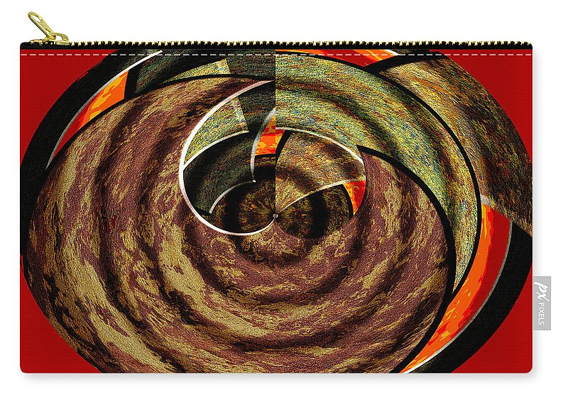 Abstract Carry-all Pouch featuring the digital art 1396 Abstract Thought by Chowdary V Arikatla