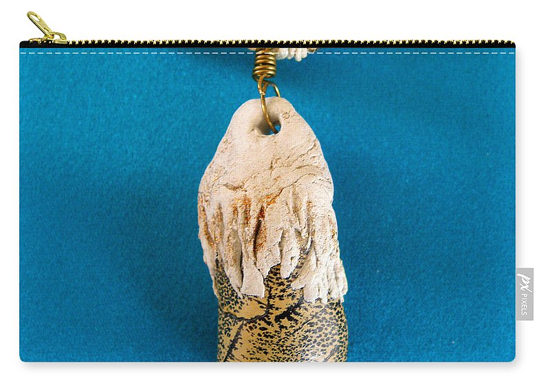 Augusta Stylianou Carry-all Pouch featuring the jewelry Aphrodite Gamelioi Necklace by Augusta Stylianou