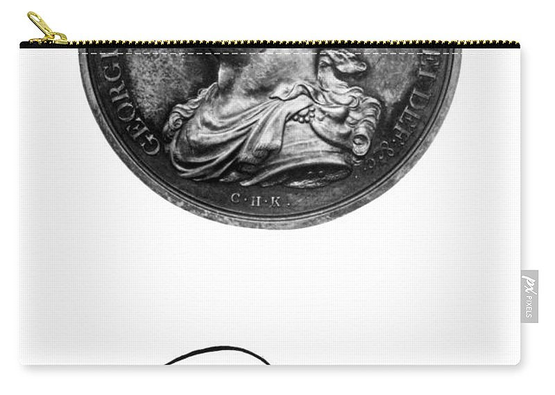 18th Century Carry-all Pouch featuring the painting George IIi (1738-1820) by Granger