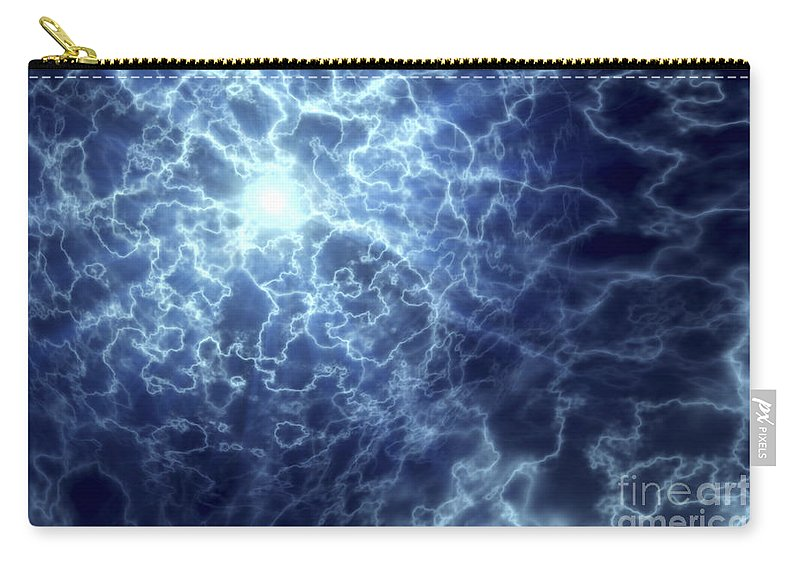 Nerve Cells Carry-all Pouch featuring the photograph Neurons by Science Picture Co