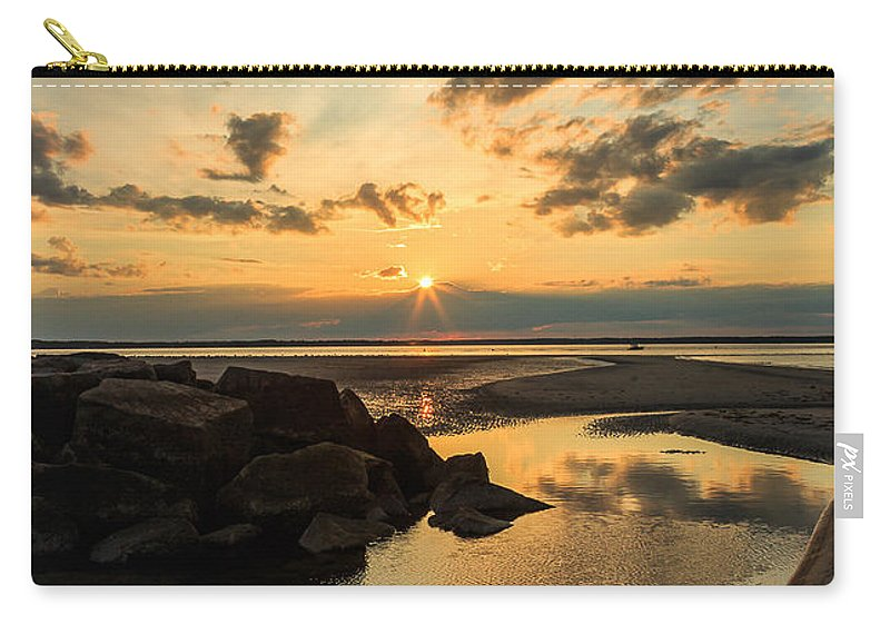 Sunset Carry-all Pouch featuring the photograph 148 by Rrea Brown