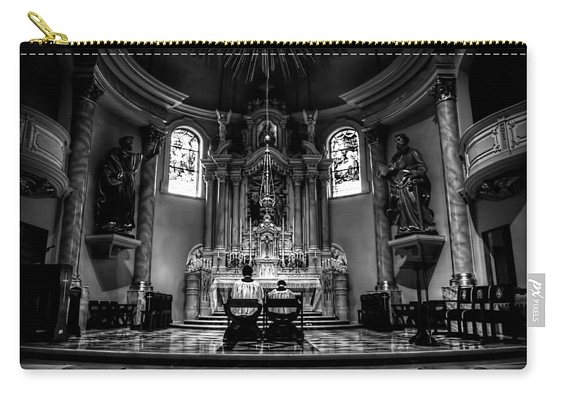 Mn Church Carry-all Pouch featuring the photograph Church Of Saint Agnes by Amanda Stadther