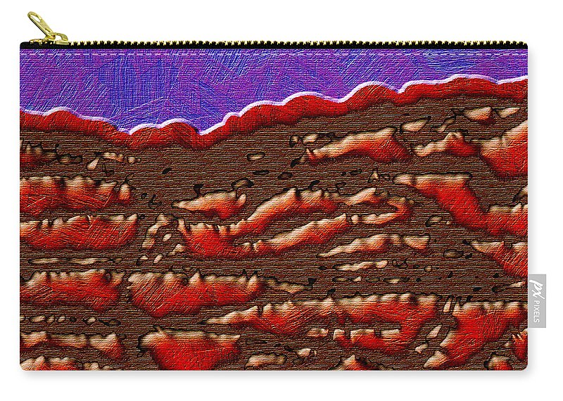 Abstract Carry-all Pouch featuring the digital art 1551 Abstract Thought by Chowdary V Arikatla