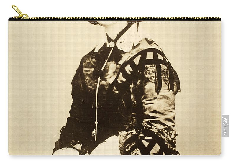 19th Century Carry-all Pouch featuring the photograph Florence Nightingale by Granger