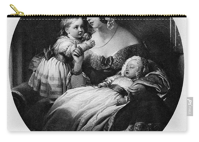 19th Century Carry-all Pouch featuring the painting Victoria Of England by Granger