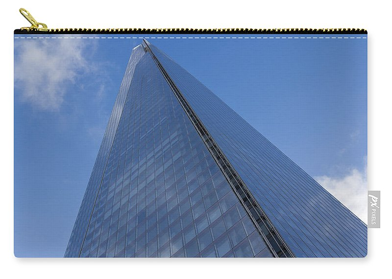Shard Carry-all Pouch featuring the photograph The Shard London by David Pyatt