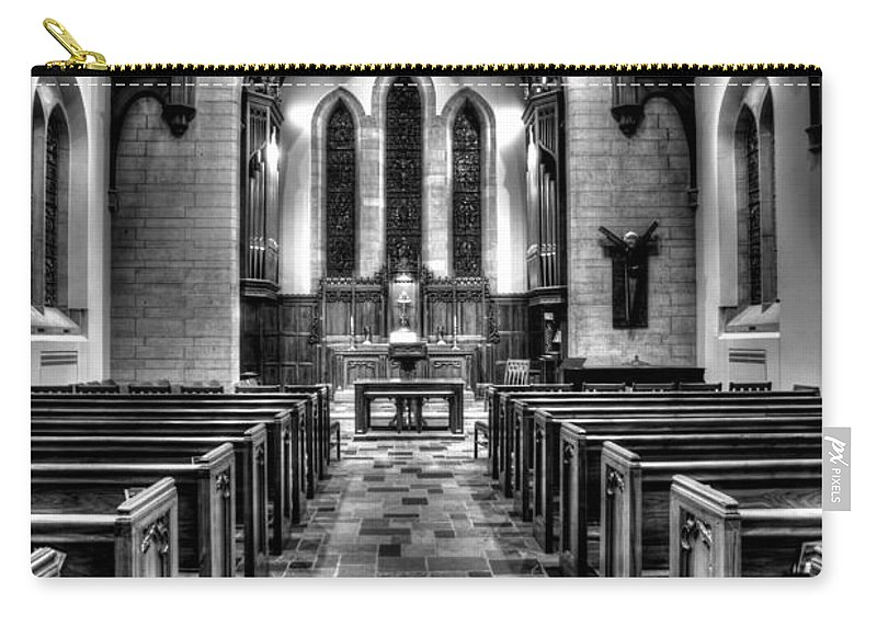 Mn Churches Carry-all Pouch featuring the photograph Westminster Presbyterian Church by Amanda Stadther