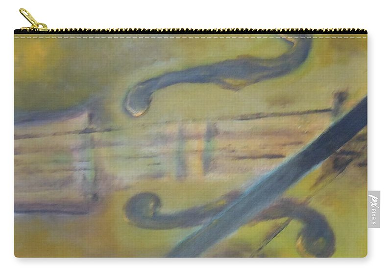 Abstract Carry-all Pouch featuring the painting Art By Lyle by Lord Frederick Lyle Morris - Disabled Veteran