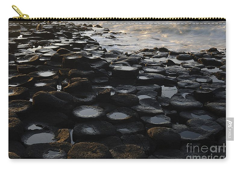 Landscape Carry-all Pouch featuring the photograph The Giants Causeway by John Shaw