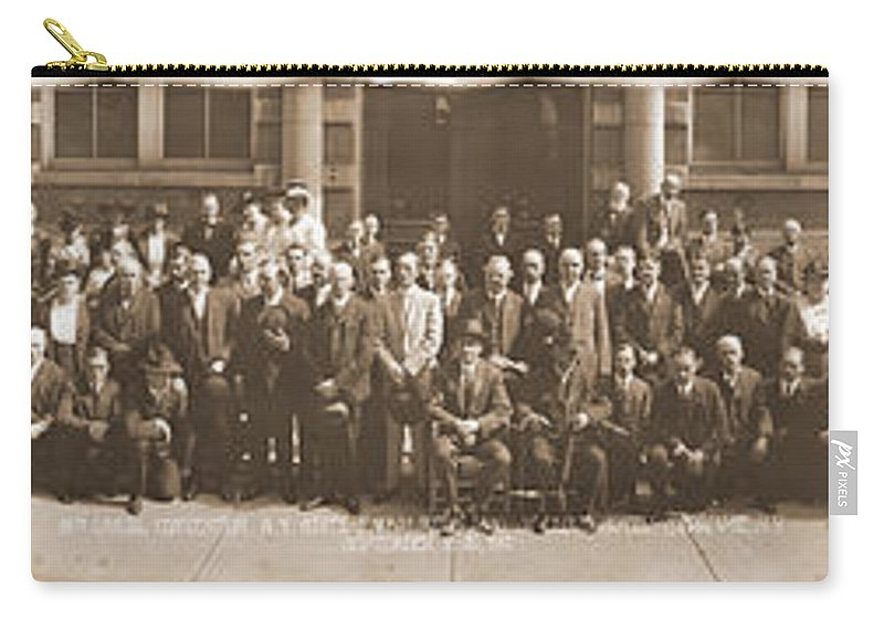 Photography Carry-all Pouch featuring the photograph 18th Annual Convention New York State by Fred Schutz Collection